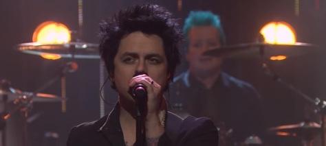 Green Day late night